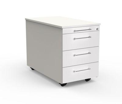 artline Rollcontainer - weiß, 420 x 580 x 800 mm
