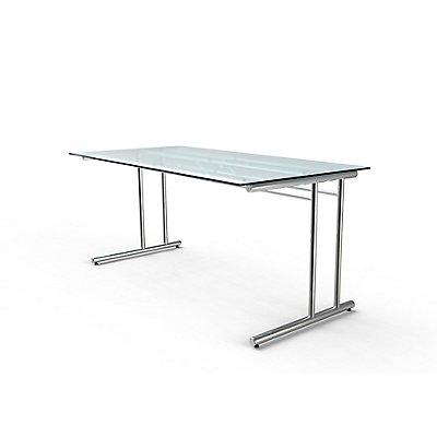 Kerkmann artline Schreibtisch mit C-Fuß-Gestell - 1600 x 800 x 720 mm - artline Schreibtisch