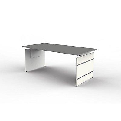 form 4 bureau pieds panneaux 1800 x 900 mm r glable. Black Bedroom Furniture Sets. Home Design Ideas