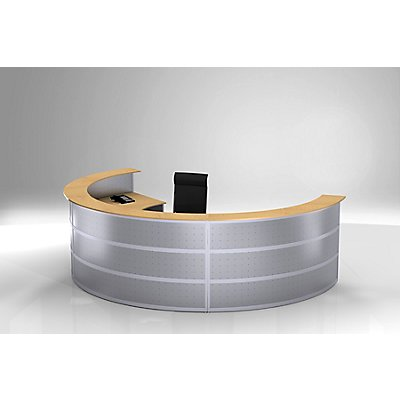 BST Tools Grundtheke - rund, Tischplatte Buche