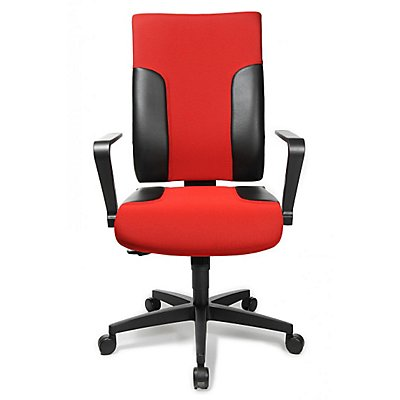 Topstar Schreibtischstuhl - mit höhenverstellbarer Rückenlehne