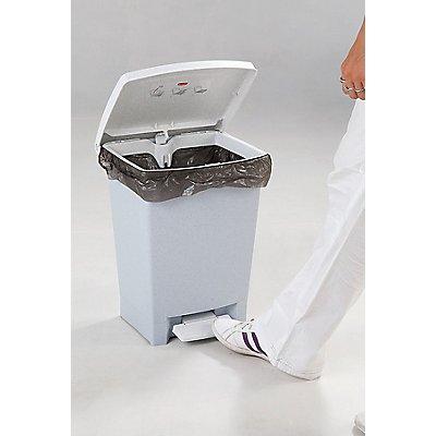 Kunststoff Papierkorb | Volumen 24 l | Grau | Certeo
