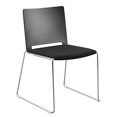 Stuhl Mit Kufen Mit Sitzpolster