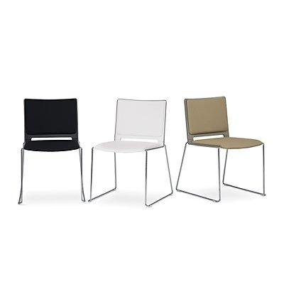 FRIWA Stuhl mit Kufen - mit Sitzpolster