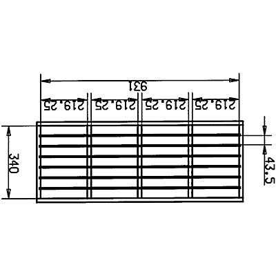 Wedeka DIN-A4-Formularblock aus Holz - 28 Fächer