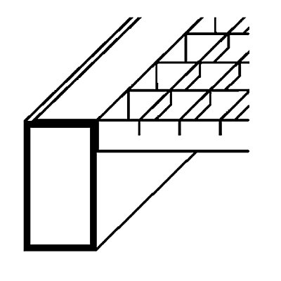 SLP Palettenregal-Boden - Gitterrostboden, Trägerlänge 2700 mm