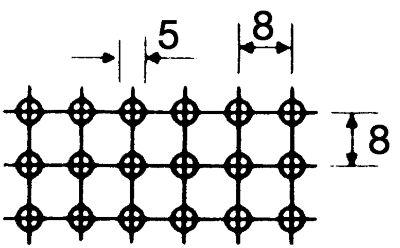 Stapelkasten, Stahlblech gelocht - Ausführung Lochbild B, VE 5 Stk