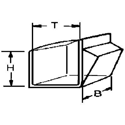 Système de bacs pivotants - casier h x l x p 164 x 600 x 133 mm