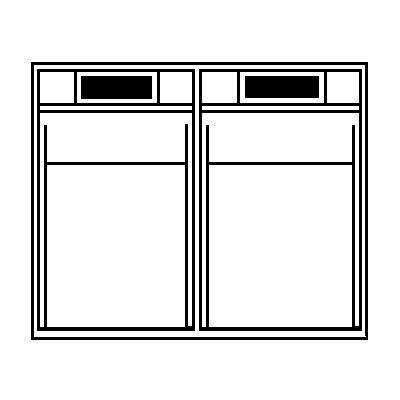 Lockweiler Klappkasten-System - Gehäuse-HxBxT 353 x 600 x 299 mm