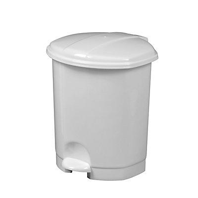 Poubelle plastique à pédale - 5l - PRIMA | Rossignol