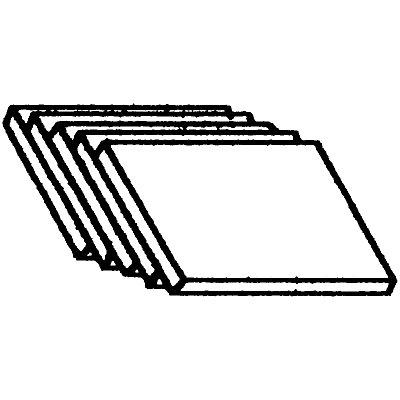 HAMMERBACHER Jeu de trieurs obliques - 5 pièces pour format A4 - gris clair | ACSA
