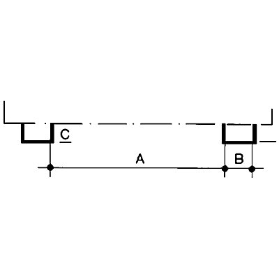 Asecos PE-Auffangwanne, LxB 1245 x 865 mm - Höhe 350 mm, unterfahrbar