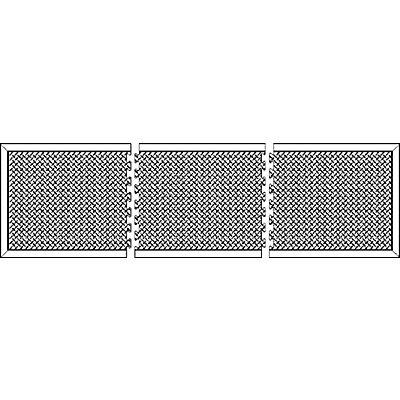 COBA Anti-Ermüdungsmatte aus Naturgummi, schwarz - Einzelmatte