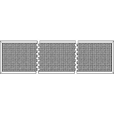 COBA Anti-Ermüdungsmatte aus Naturgummi, schwarz - Randstück - LxB 900 x 600 mm, VE 2 Stk