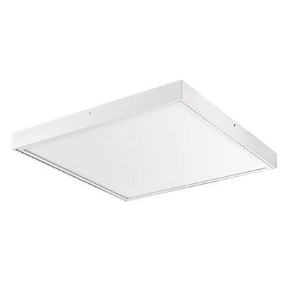 Alco LED-Deckenleuchte | HxBxT 60 x 60 x 5 cm | Weiß