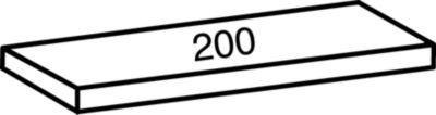 Industrie- und Lagersteckregal, Höhe 2280 mm, 6 Böden - Bodenbreite 800 mm