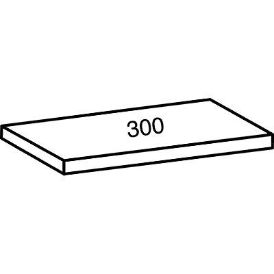 Scholz Industrie- und Lagersteckregal, Höhe 2280 mm, 6 Böden - Bodenbreite 1200 mm