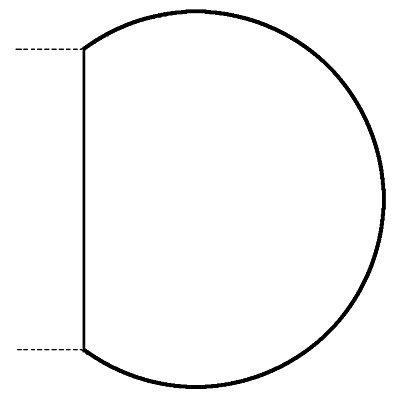 HAMMERBACHER NICOLA Anbautisch - rund, mit Stützfuß