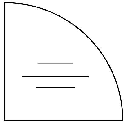 Wellemöbel CORINNA Verkettungsplatte für Schreibtische - Viertelkreis, BxT 800 x 800 mm