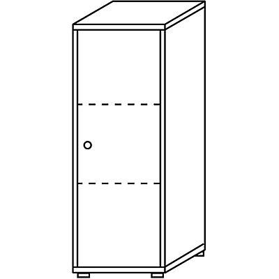 Wellemöbel CORINNA Aktenschrank - HxBxT 1115 x 400 x 362 mm