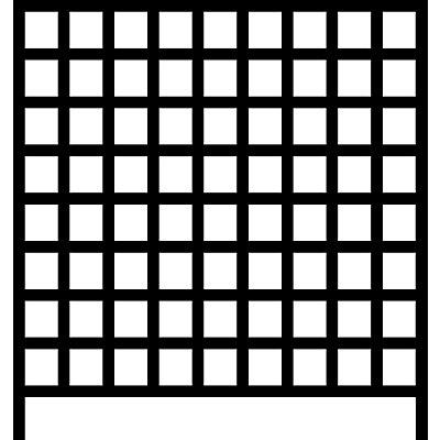 Wandregalsystem mit Sichtlagerkästen - 8 Schienen, 72 Kästen, HxB 1000 x 1010 mm