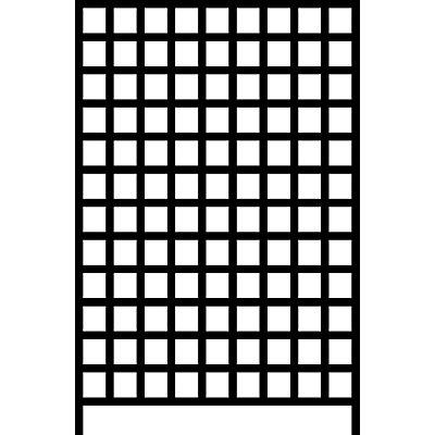 mauser Wandregalsystem mit Sichtlagerkästen - 12 Schienen, 108 Kästen, HxB 1500 x 1010 mm