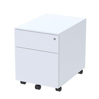 Paperflow Rollcontainer aus Metall - mit 2 Schubladen