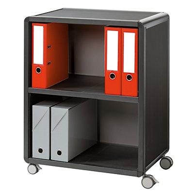 Paperflow Büro-Rollwagen mit 2 Fächern - HxBxT 864x651x330 mm