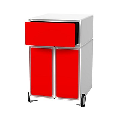 Paperflow Büro Rollcontainer - mit 3 farbigen Schubladen
