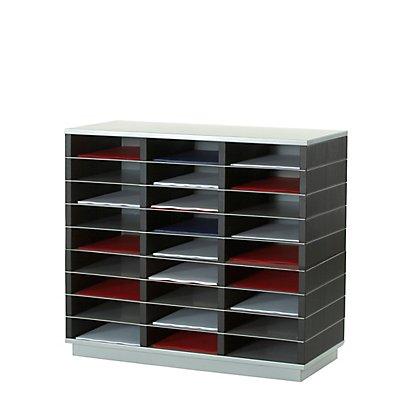 Paperflow Sortierstation für DIN A4 - grau