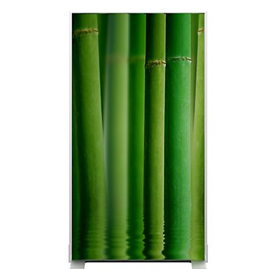 Paperflow trennwand bambus mit stoffbespannung h he 1740 mm - Trennwand bambus ...