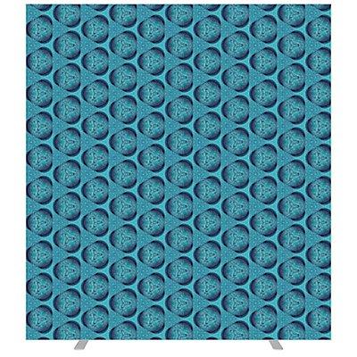 Paperflow Raumteiler MOSAIK - mit Stoffbespannung, Höhe 1740 mm