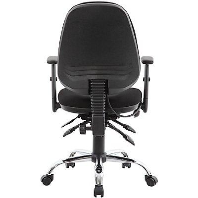 Arbeitsdrehstuhl Ergo Operator - ergonomisch, schwarz