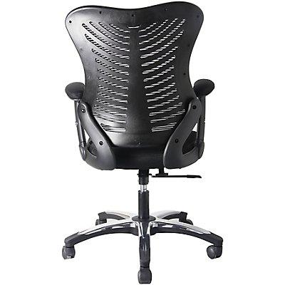 Bürodrehstuhl Ultra - mit Design-Netz-Rückenlehne