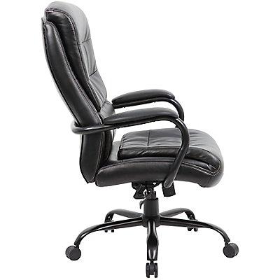 chaise pivotante de bureau habillage cuir citadel poids. Black Bedroom Furniture Sets. Home Design Ideas