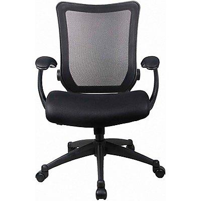 Bürostuhl Aspect mit Netz-Rückenlehne, schwarz