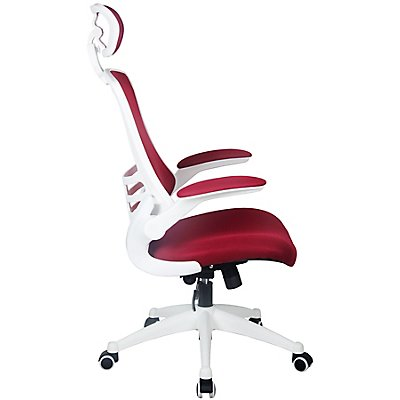 Bürodrehstuhl Flexi - mit Netzrückenlehne und Kopfstütze