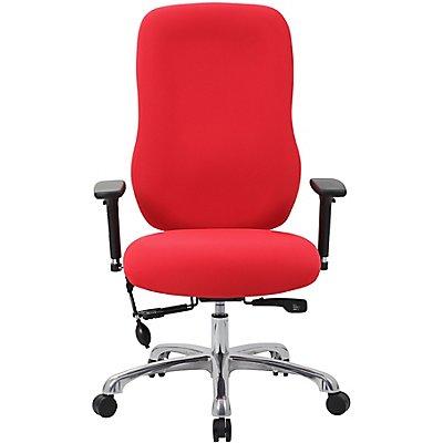 Bürostuhl AirTask - mit hoher Rückenlehne und gefedertem Sitz
