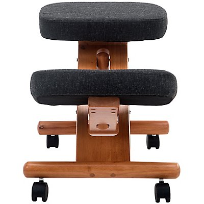 Kniehocker - mit Holz-Gestell