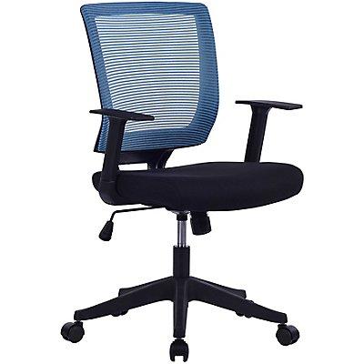 Bürodrehstuhl Galaxy - Netz-Rückenlehne, Armlehnen im T-Design