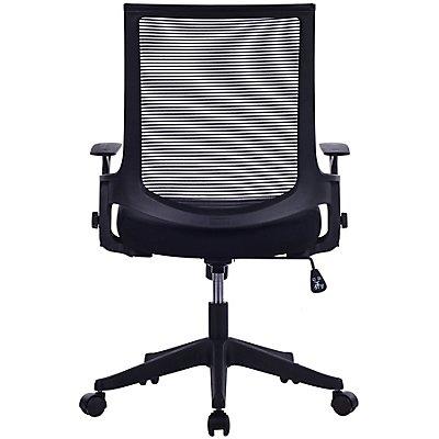 Bürostuhl Elements mit Netz-Rückenlehne - T-Design Armlehnen
