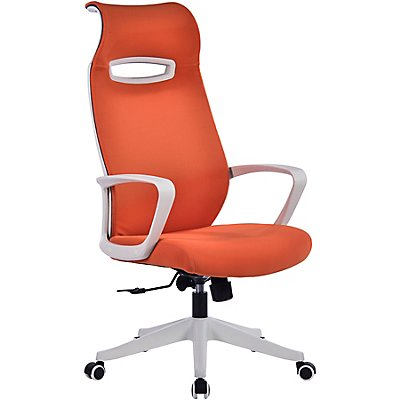 Bürodrehstuhl Spectra - mit Design-Rückenlehne inkl. Kopfstütze