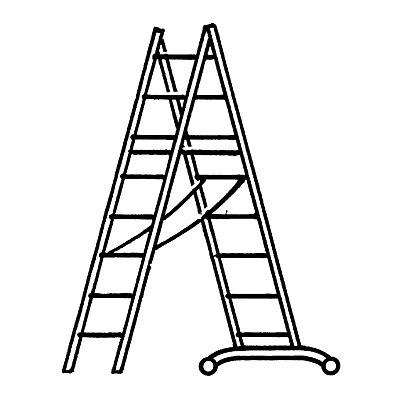 HYMER Alu-Mehrzweckleiter - Einsteigermodell