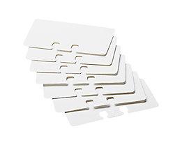 Rolodex Ersatzkarten 67558 57x102mm weiß 100 St./Pack.