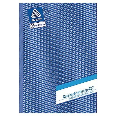 Avery Zweckform Kassenabrechnung 427 DIN A4 2x50Blatt