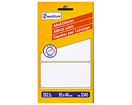 Avery Zweckform Adressetikett 3345 95x48mm weiß 282 St./Pack.