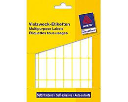 Avery Zweckform Vielzwecketikett 3323 38x14mm weiß 928 St./Pack.