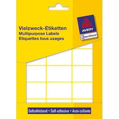 Avery Zweckform Vielzwecketikett 3325 38x24mm weiß 522 St./Pack.