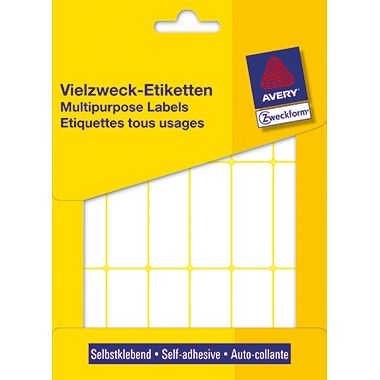 Avery Zweckform Vielzwecketikett 3327 50x19mm weiß 486 St./Pack.
