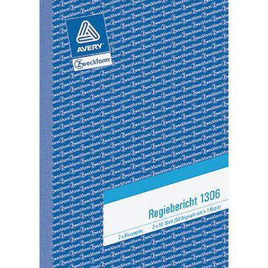Avery Zweckform Regibericht 1306 DIN A5 2x50Blatt